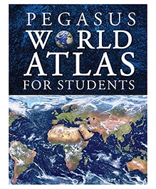 Pegasus Book World Atlas For Students - English
