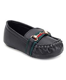 Ket Slip-On Loafer Shoes - Black