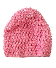 NeedyBee Crochet Cap - Pink