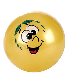 Fab N Funky Kids Ball Face Printed - Yellow
