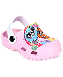 Cute Walk Clog With Back Strap - Printed