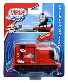 Thomas And Friends Motorised Engine Sounds James - Red