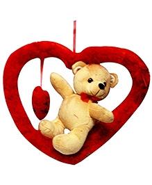 DealBindaas Romeo Bear with Heart Stuff Toy Teddy Bear