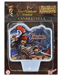 Disney 2D Pirates Of Caribbean Candle - 1 Piece