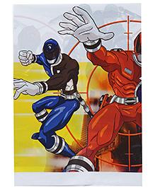 Power Ranger Plastic Table Cover