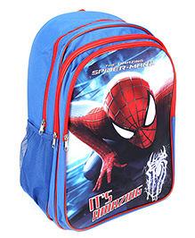 Spider Man School Back Pack - 18 Inches