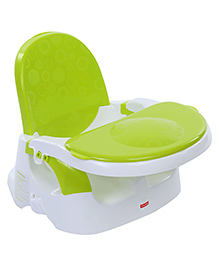 Fisher Price Clean N Go Feeding Booster Seat - Green