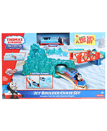 Fisher Price - Icy Boulder Chase Set - 30 Pieces