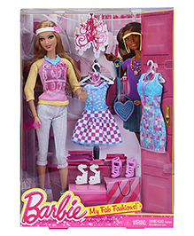 Barbie My Fab Fashions Doll - Height 29 Cm - Height 29 Cm