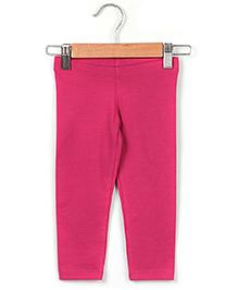 Beebay Three Fourth Plain Legging - Pink