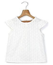 Beebay Hemla Top - White