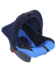 Fab N Funky Infant Car Seat Cum Carry Cot - Blue - All Over Dimension 59 X 41 X 54 Cm