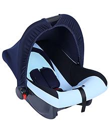 Fab N Funky Infant Car Seat Cum Carry Cot - Aqua Blue - All Over Dimension 59 X 41 X 54 Cm