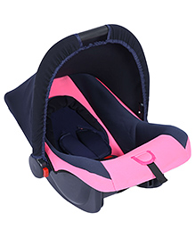 Fab N Funky Infant Car Seat Cum Carry Cot - Dark Pink - All Over Dimension 59 X 41 X 54 Cm