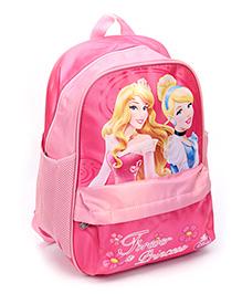 Disney Princess Backpack Printed Pink - 16 Inches