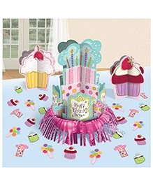 Party In a Box Amscan Sweet Stuff Table Decorating Kit
