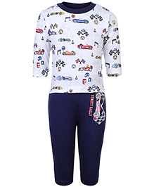 Cucumber Full Sleeves T-Shirt And Leggings - Street Rally Print