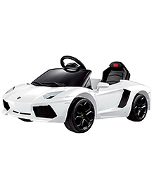 Rastar Battery Operated Lamborghini Aventador LP 700-4 Ride On Car - White