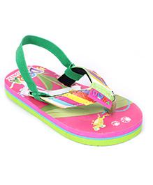 Dora Flip Flop With Back Strap - Multicolor