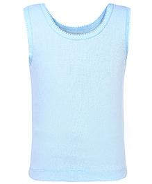 Babyhug Sleeveless Camisole - Light Blue
