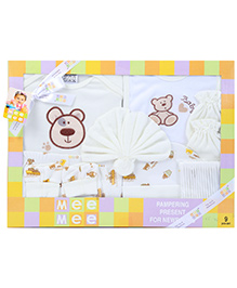 Mee Mee Pampering Present For New Born - Pack Of 9