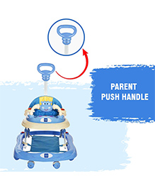 Mee Mee Musical Walker With Play Tray Blue - MM-W 3012