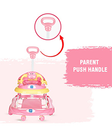 Mee Mee Musical Walker With Play Tray Pink - MM-W 3012