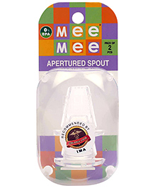 Mee Mee Apertured Spout - Pack Of 2