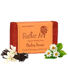 Rustic Art Organic Baby Soap - 100 gm