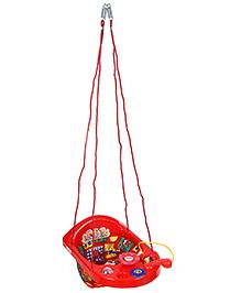 New Natraj Printed Activity Swing - Red