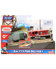 Thomas And Friends Trackmaster Motorised Railway Salty's Fish Delivery