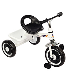 Kids Trike Tricycle - White And Black