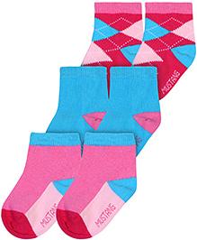 Mustang Socks Multicolor - Pack Of 3