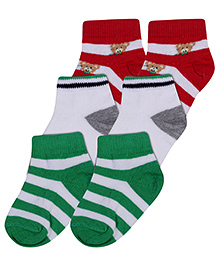 Mustang Socks Multicolor - Pack Of 3