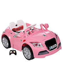 Battery Operated Car Ride On - Pink
