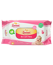 Cocoon Baby Skin Care Wipes - 72 Pieces