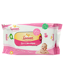 Cocoon Baby Skin Care Wipes - 20 Pieces