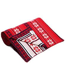 Pluchi Cosmopolitan Knitted Cotton Throw Blanket