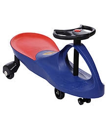 Baby Swing Car Ride On - Dark Blue - All Over Dimensions 43 X 76 X 32 Cm