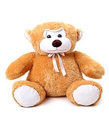 IR Jumbo Monkey Soft Toy - Yellowish Brown - 48 X 54 X 54 Cm