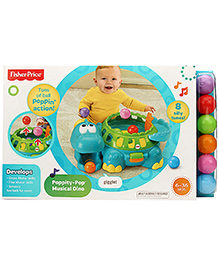 Fisher Price Poppity Pop Dino - Blue