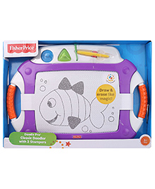 Fisher Price Doodle Pro With Stampers - Purple