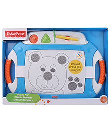 Fisher Price Doodle Pro With Stampers - Blue