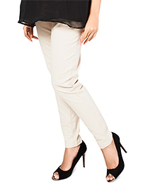 Nine Smart Comfort Fit Trouser - Beige