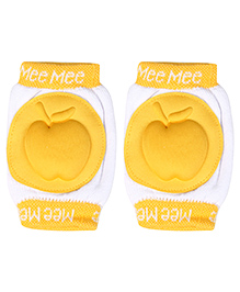 Mee Mee Knee Pad - Yellow And White