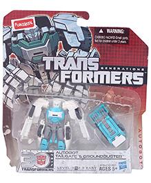Transformers Autobot Tailgate And Groundbuster - Aqua