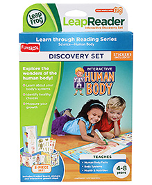 Leap Frog Leap Reader Interactive Human Body Discovery Set Pack