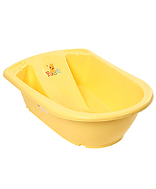 Disney International Anatomic Baby Bath Tub Winnie The Pooh Design - Yellow