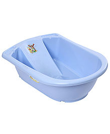 Disney International Anatomic Baby Bath Tub Winnie The Pooh Design - Blue
