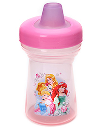 Disney International Princess Meal Mates Soft Spout Sippy Cup Pink - 270 ml